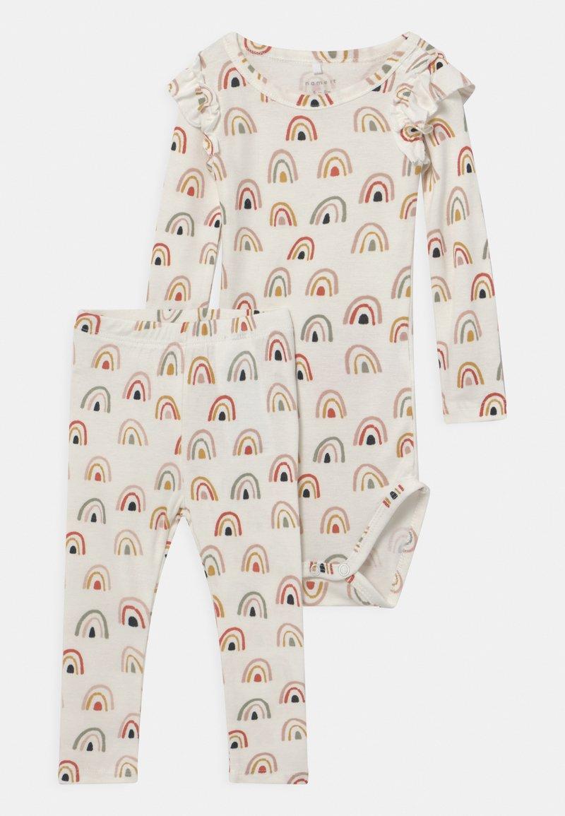 Name it - NBFDAOMI SET - Leggings - Trousers - snow white