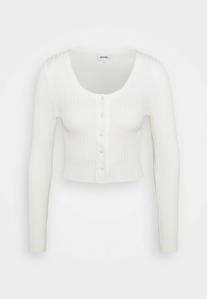 ALIANA CARDIGAN - Neuletakki - white light