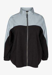 Active by Zizzi - Fleece jacket - black - 3