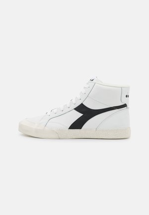 MELODY MID DIRTY UNISEX - Sneakers hoog - white /black