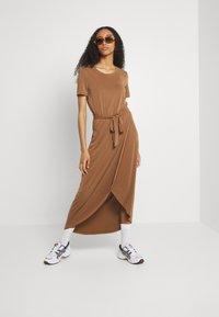 Object - OBJANNIE NADIA DRESS - Maxi dress - partridge - 1