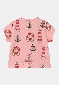 Mini Rodini - LIGHTHOUSE TEE - Print T-shirt - pink - 1