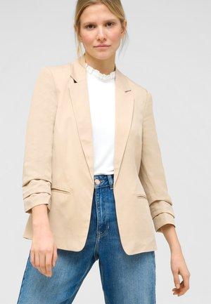 Short coat - autumn beige