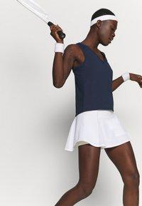 Nike Performance - TANK - T-shirt sportiva - obsidian/white - 3