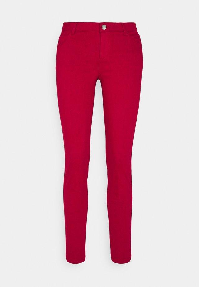 Jeans Skinny Fit - grenat