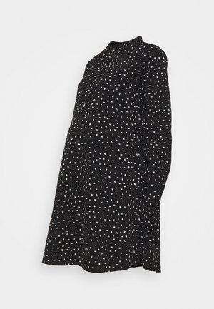 SHIRT DRESS - Shirt dress - black