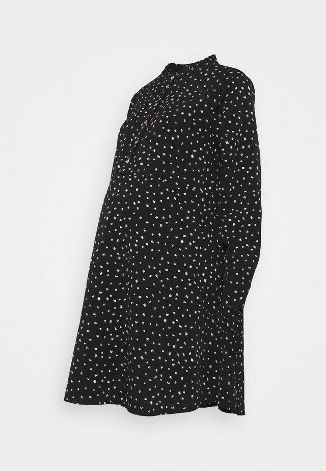 SHIRT DRESS - Sukienka koszulowa - black