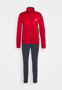adidas Performance - TEAM SPORTS TRACKSUIT - Dres - scarle/legink - 5