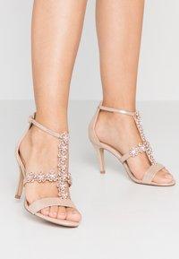 Lulipa London - DAISY - High heeled sandals - light metallic - 0
