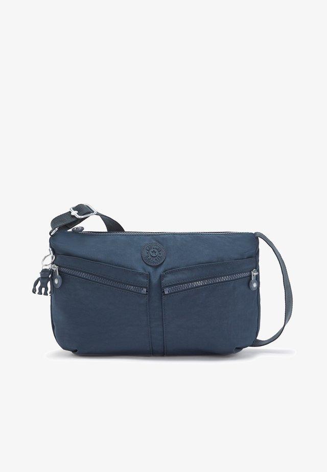 Across body bag - blue bleu