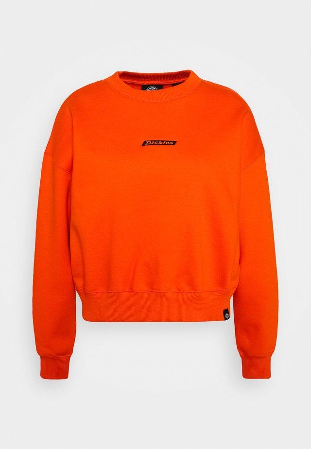 FERRIDAY - Sweatshirt - bright orange