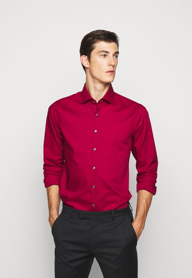 POPLIN SLIM - Skjorta - rumba red