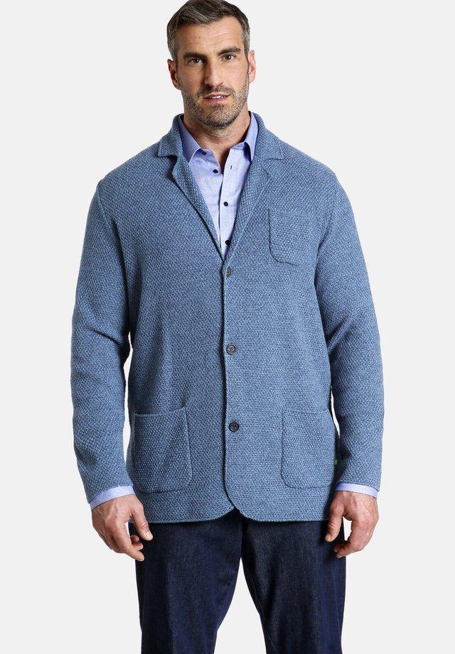 EARL JAMES - Blazer jacket - blau melange