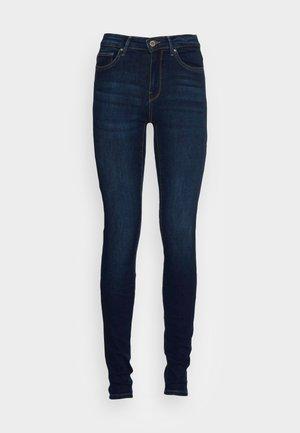 ONLCARMEN LIFE REG - Jeans Skinny Fit - dark blue denim