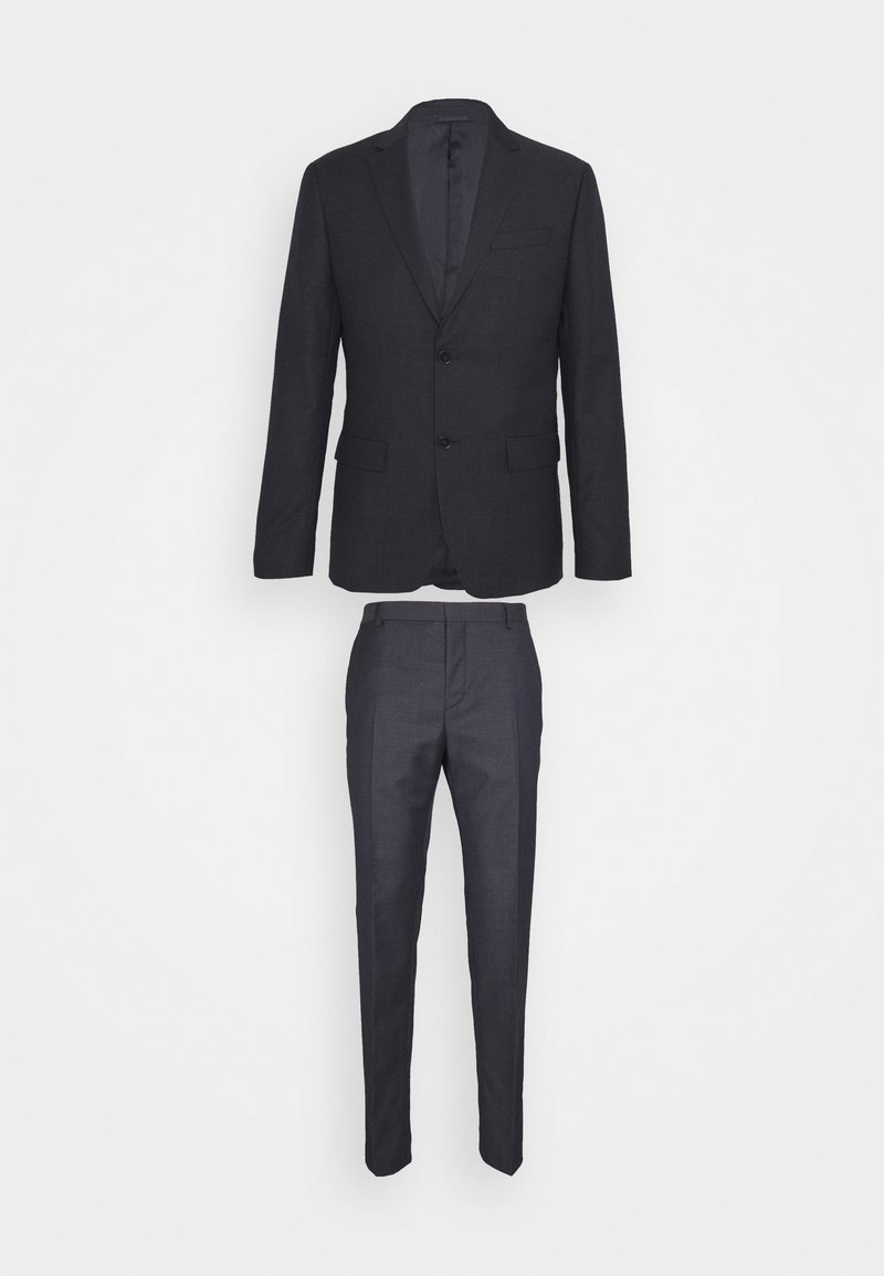 Calvin Klein Tailored - MICRO STRUCTURE SUIT - Suit - navy