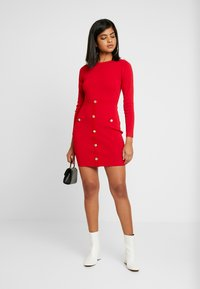 Morgan - Shift dress - ruby - 1