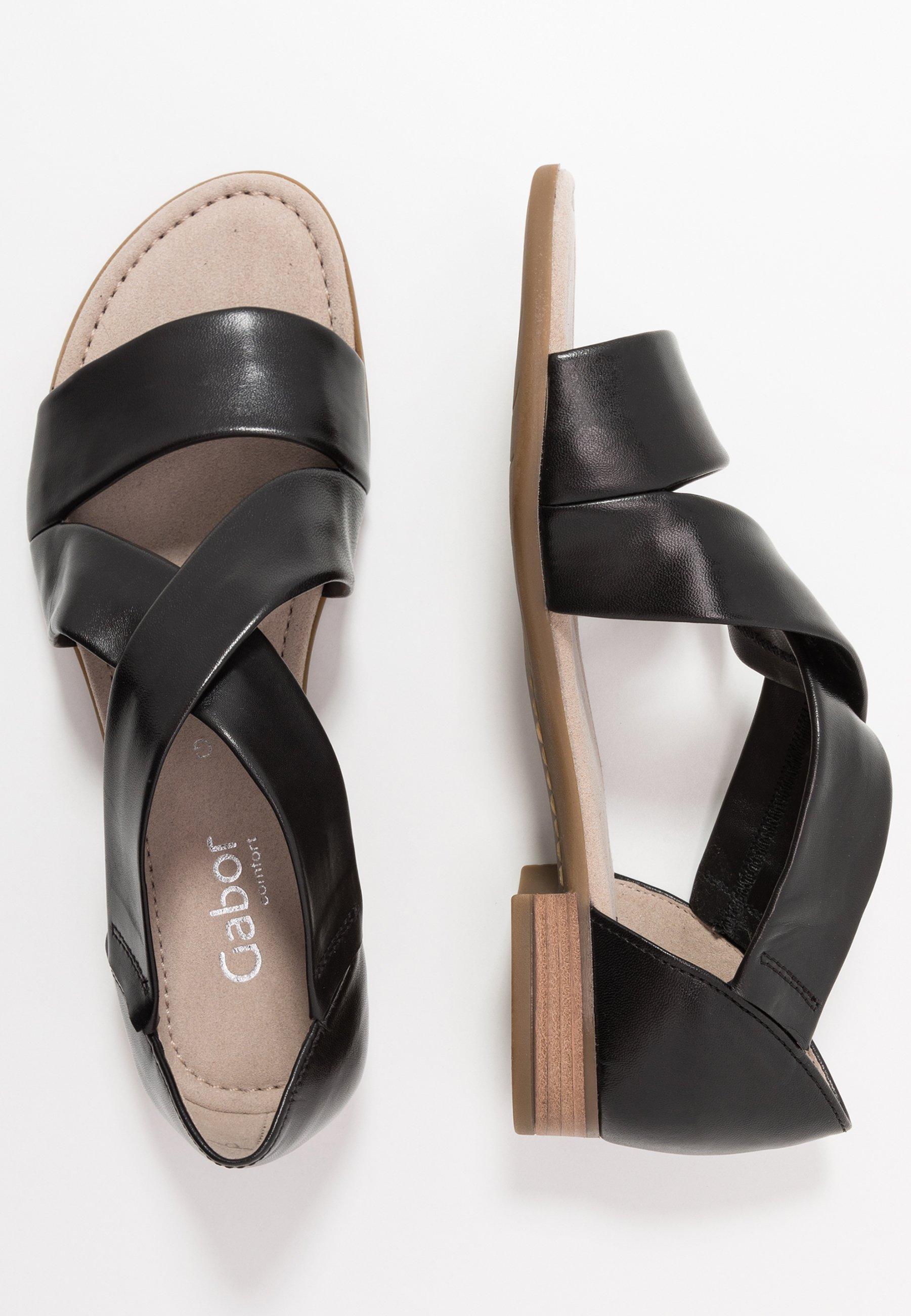 Sandaler schwarz