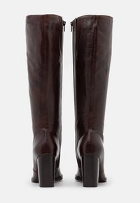 Bianco - BIAJUDIA LONG BOOT - High heeled boots - dark brown - 3