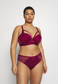 City Chic - ONYX BRA - Underwired bra - cerise - 1