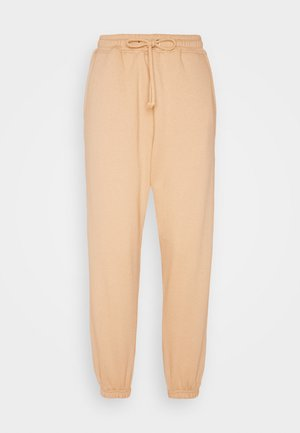 90S JOGGERS - Tracksuit bottoms - tan