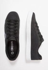 Kappa - MESETA - Sports shoes - black/white - 1