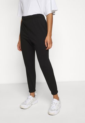 VMELLA BASIC PANT - Trousers - black
