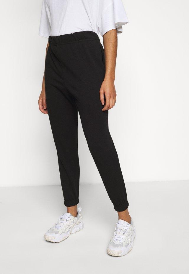 VMELLA BASIC PANT - Trousers - black