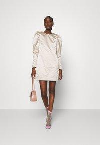 Cras - SPACECRAS DRESS - Sukienka koktajlowa - silver - 1