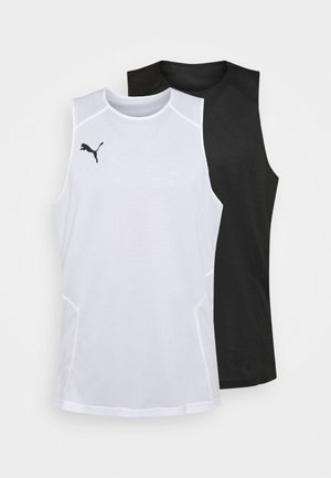 BBALL PRACTICE  - Top - white/black