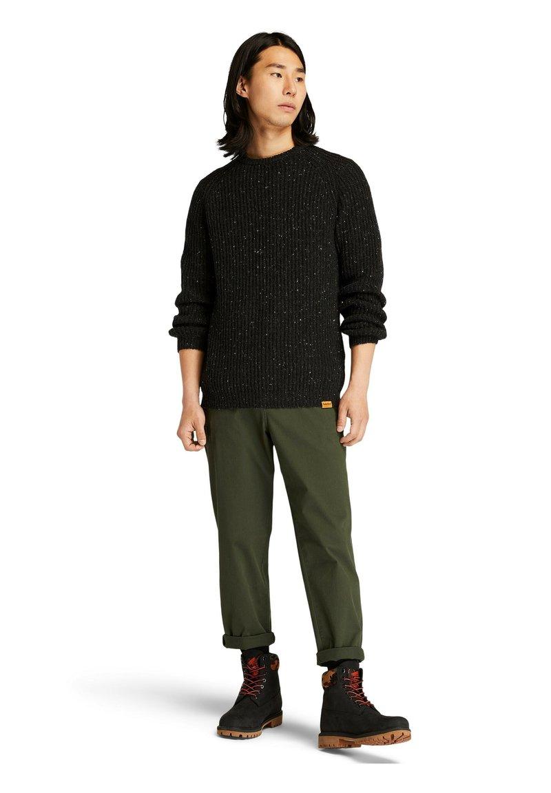Timberland - NAPS  SWE - Sweatshirt - dark grey heather