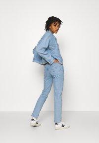 Levi's® - 501 CROP - Jeans slim fit - tango surge - 1