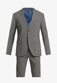 Isaac Dewhirst - CHECK SUIT - Oblek - grey - 8