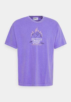 BETTER DAYS PRINT TEE UNISEX - Print T-shirt - lilac
