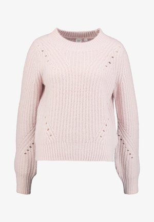 BRUSHED CREW - Pullover - soft pink