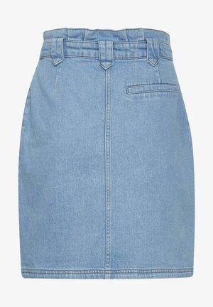 Denim skirt - light blue