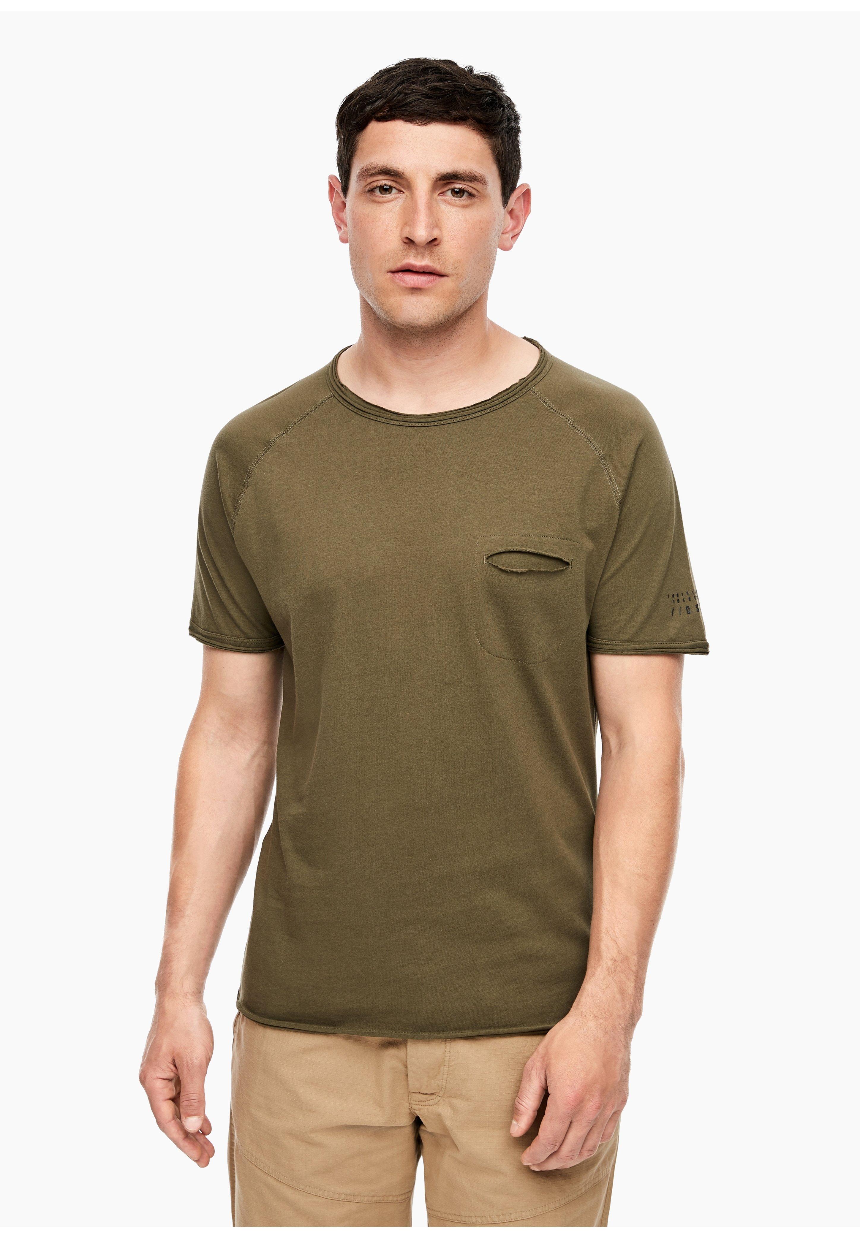 Herren MIT BRUSTTASCHE - T-Shirt basic