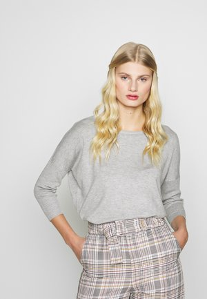 MILA NECK - Jumper - pearl grey