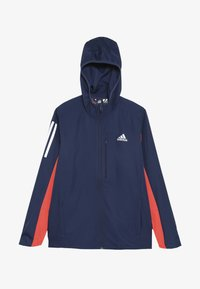 adidas Performance - RUN - Veste coupe-vent - tech indigo/vivid red/silver - 2