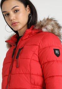 ONLY - ONLNORTH COAT  - Winter coat - goji berry - 5