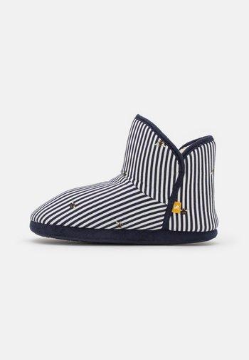 CABIN - Slippers - dark blue/white