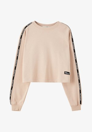 Sweatshirt - mottled rose