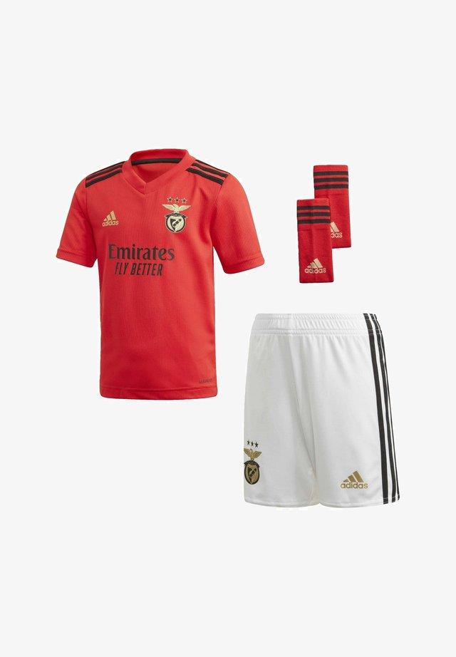 BENFICA LISSABON JUNIOR AUSRÜSTUNG - Football shirt - red
