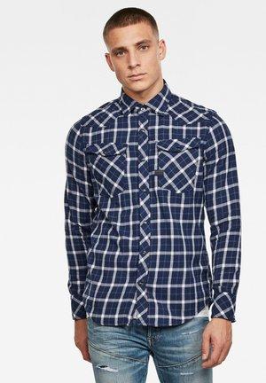 3301 SLIM - Shirt - imperial blue bai check