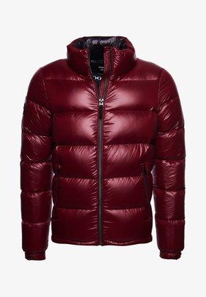 LUXE ALPINE  - Down jacket - deep port