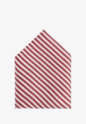Einstecktuch - dark red