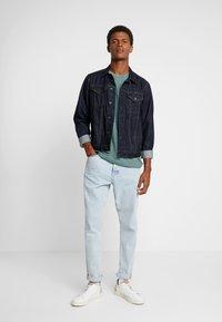 Esprit - PEACH GRINDL  - Basic T-shirt - dusty green - 1