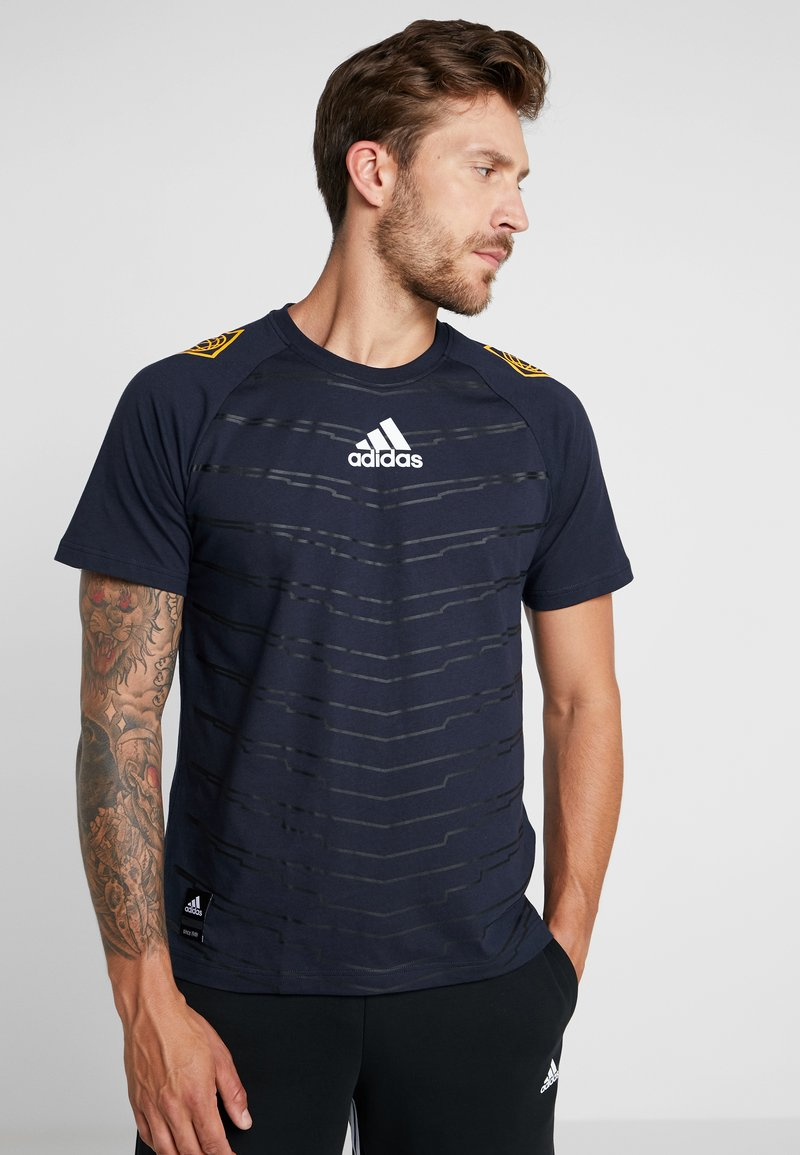 adidas Performance - ID - T-shirt con stampa - legend ink