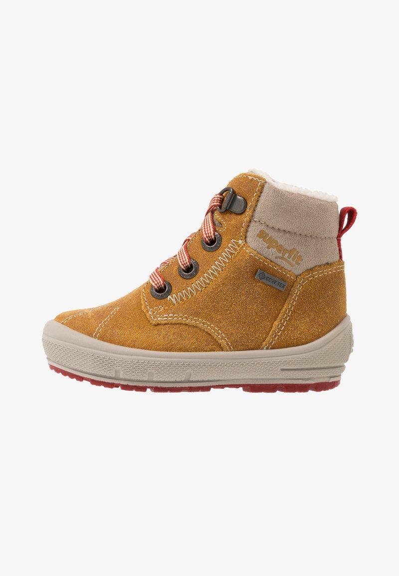 Superfit - GROOVY - Winter boots - gelb/beige/rot