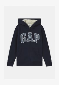GAP - BOY COZY LOGO - Felpa aperta - blue galaxy - 0