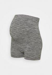 Anna Field MAMA - Seamless Leggings - Trousers - Legginsy - grey - 0